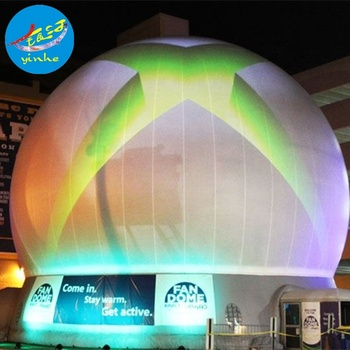 factory supply white inflatable  360 Projection Dome