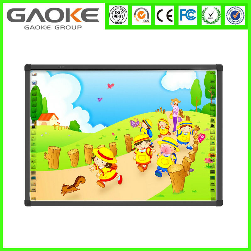 GAOKE best seller 82 inch high quality office furniture conference room smart board interactive whiteboard