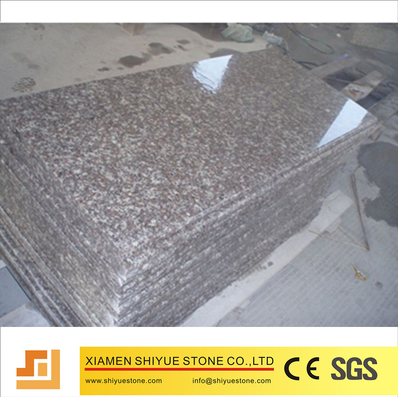 G664 Granite Look Ceramic Tiles For Stair Tread Buy Luoyuan Red