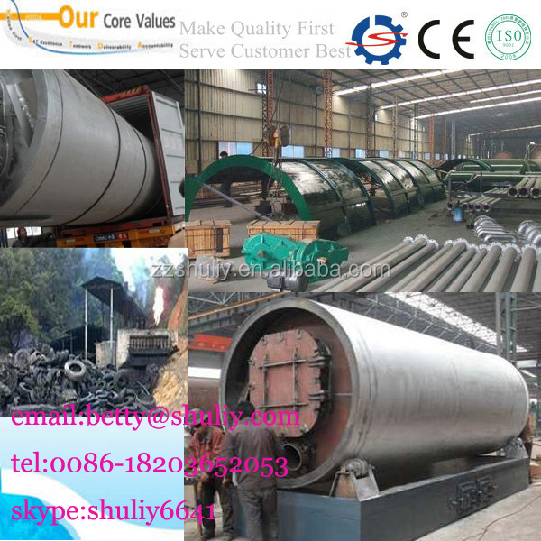 Hot Sale green technology non-pollution waste oil refining plant to diesel oil