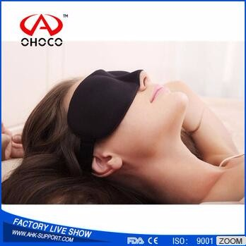 2017 High quallity Sleep Restoration Natural Silk Sleep Mask & Blindfold Single Strap Super-Soft Silk memory foam eye mask
