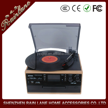 Hot Sale Belt Drive Bluetooth Vinyl Record Player With