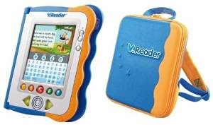 VTECH V.Reader 3-7 Years Animated E Book Learn to Read System with Bonus Storage Case & 6 Free Downloadable Books
