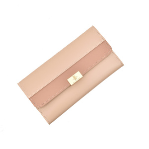 Women Soft Leather Design Multi Card Organizer Lady Wallet and Purse