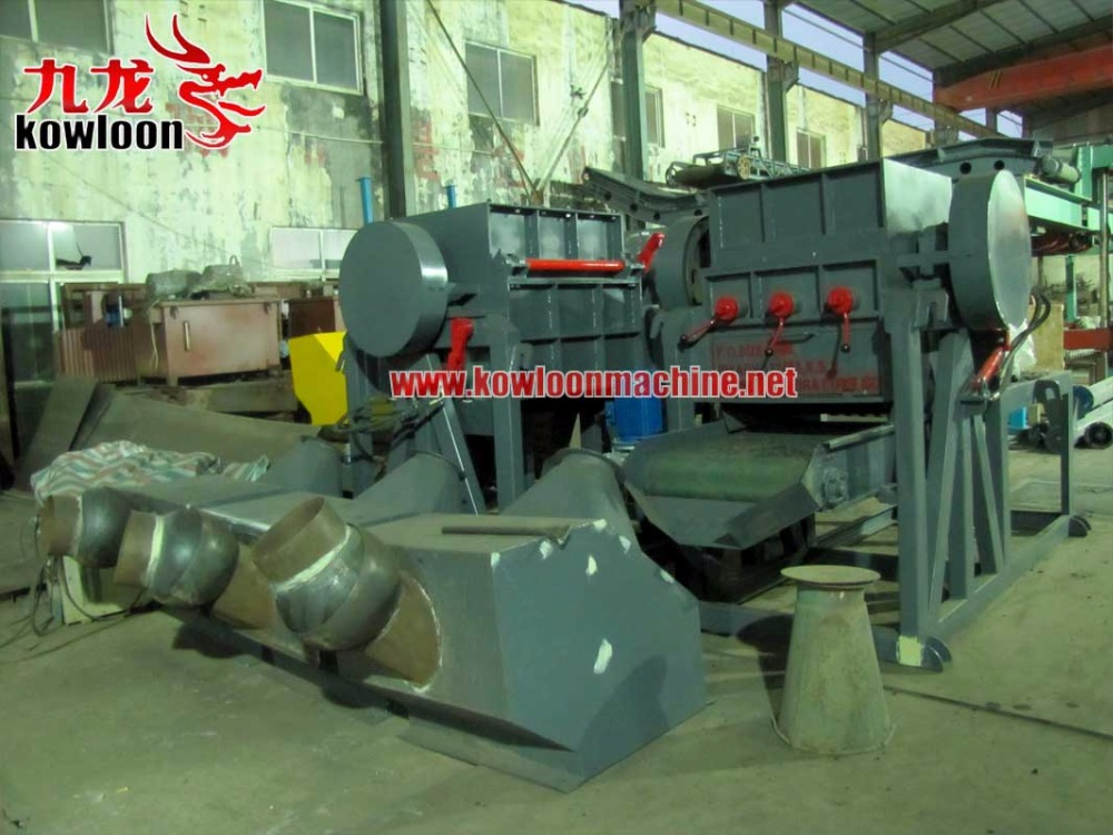 recycle system used scrap tyre rubber granule machine