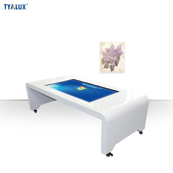 Game Conference Restaurant Interactive Multi Touch Screen Coffee Table