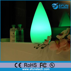 waterproof rechargeable cordless color changing decor led Lamp for hotel, hot tub spa led mood light