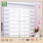 New design 100% polyester white color zebra fabric for roller blind