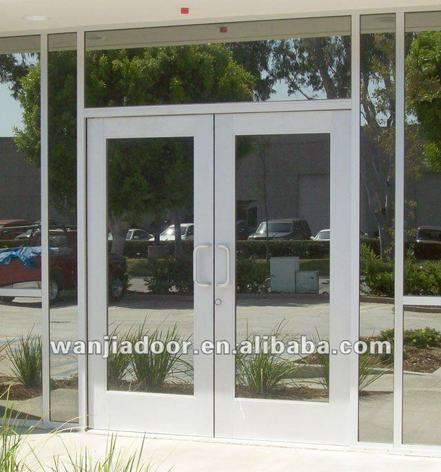 Automatic Commercial Doors Glass