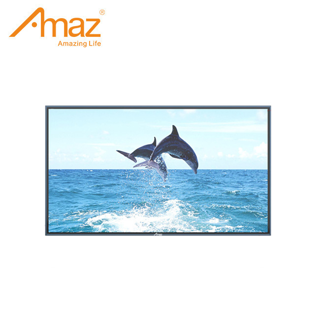 AL909 100 inch Big screen smart LED TV with Tempered Glass