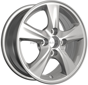 HS 14inch car alloy wheel rim with TUV