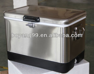 hot selling metal beer cooler box stubby cooler chest