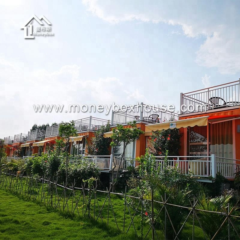 2018 China supplier prefabricated house modern fashionable container holiday home inn