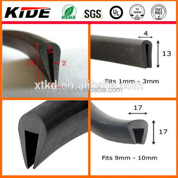 Extruded Rubber Seal Extrusion  Rubber U Channel Wooden Door Seals  sc 1 st  Alibaba & Extruded Rubber Seal ExtrusionRubber U Channel Wooden Door Seals ... pezcame.com