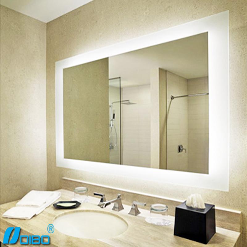 Genial espejos de ba o de dise o fotos iluminacion bano - Espejo bano luz integrada ...