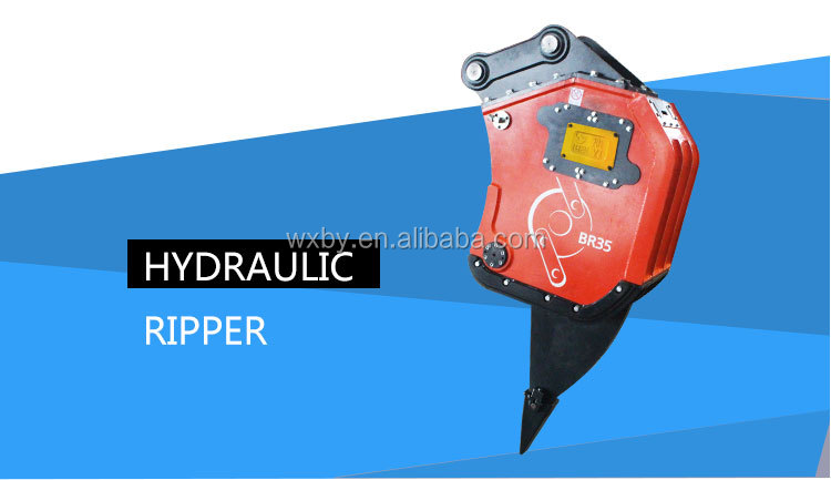 hydraulic rock ripper for excavator/vibro ripper for mountain works