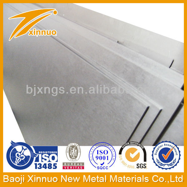 Stable quality ams 4911 titanium sheets/plates