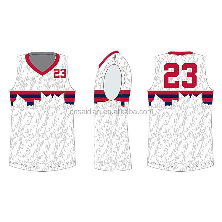 7ca2360be210c 2019 Best basketball jersey design with custom logo polyester sublimation  basketball club uniform