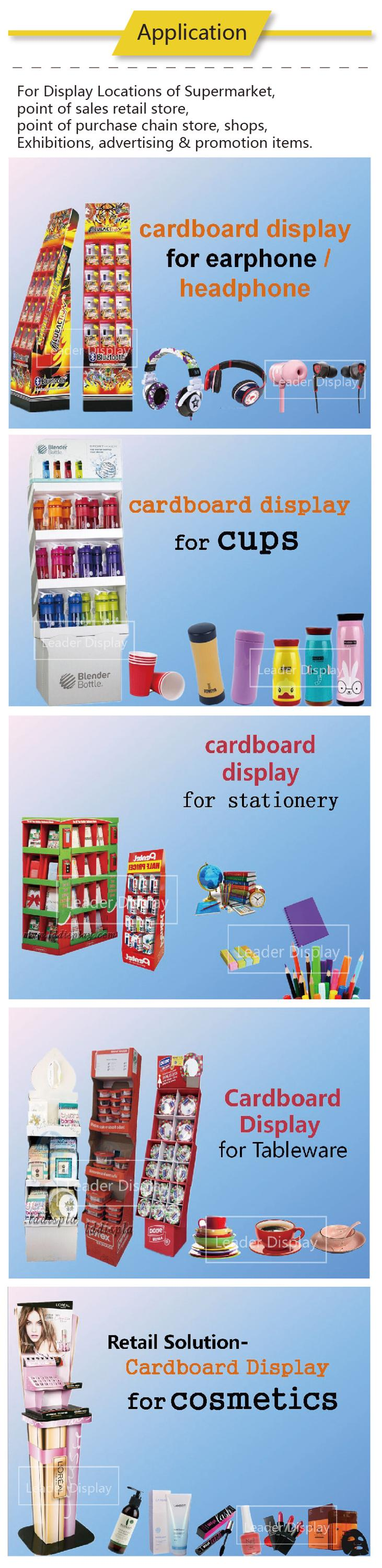 Factory Supply The Lowest Price Malaysia Greeting Card Floor Shelf