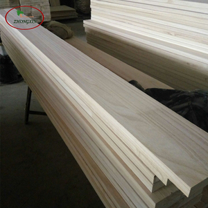 Factory supply Paulownia Wood Sawn timber for skirting board