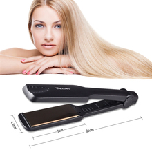 Hottest High Quality Titanium/Ceramic Infrared Flat Iron Straightening Irons Styling Tools Professional Hair