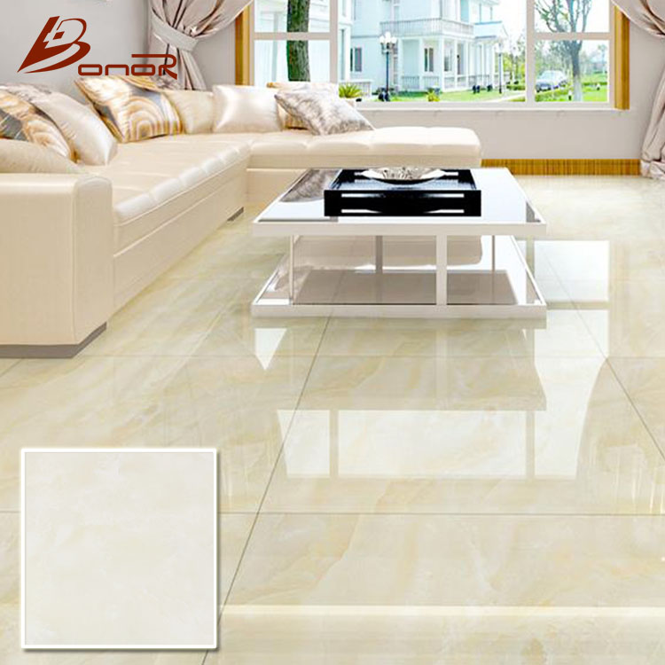 first choice living room and hotel lobby design ivory color white nano tiles bright smooth 16x16 glazed porcelain floor tile