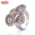 Fashion Design 18K Gold Plated Women Rings Top Quality CZ Fashion Jewelry For Women