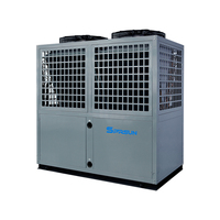 China Manufacturer Swimming Pool air water heat pump pool and spa heater 100kw