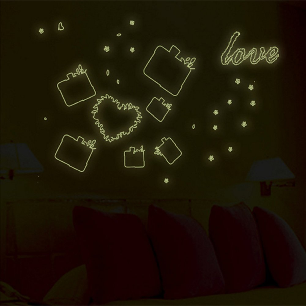 Buy Glow In The Dark Picture Frame Wall Art Sticker Decals Home