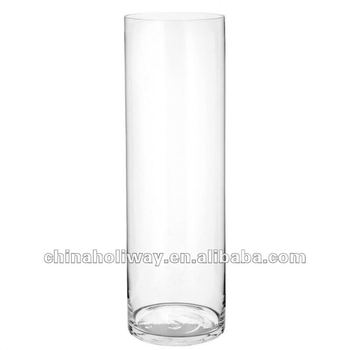 Cylindrical Glass Vasetall Glass Florals Vase Buy Cylindrical