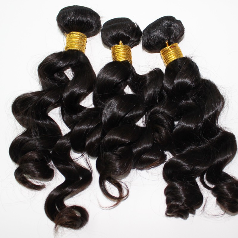2015 hot selling give discount fashional human hair indian hair weave