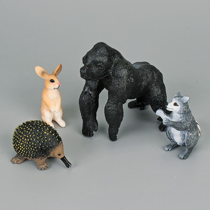 3rd set: PVC Simulation Solid Animal Model Figure Plastic Animal Toy Figurines