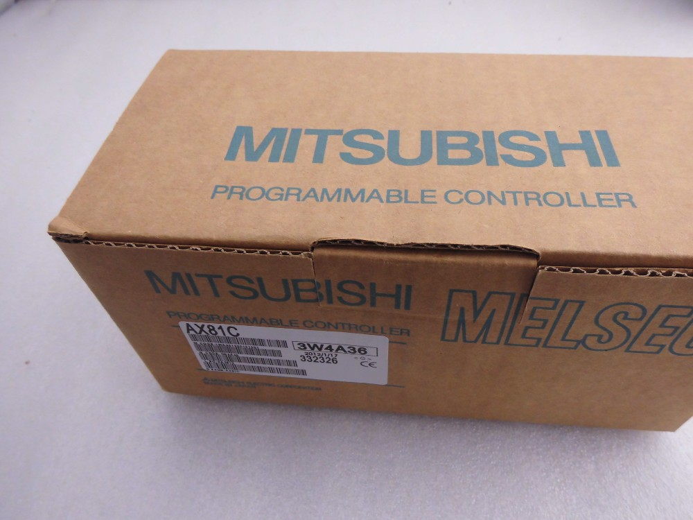NEW In Box Mitsubishi AX80Y10C PLC FREE INT SHIPPING AND 1 YEAR WARRANTY