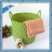 with handle cheap plastic mini laundry basket