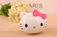 cute design hello kitty power bank 6000mah custom appearance, charger power bank
