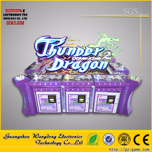 Thunder Dragon Fish Game Table/ Shooting Fishing Arcade Console Video Games