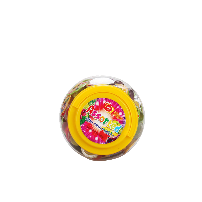 100 pcs round jar assorted mini jar fruit pudding jelly