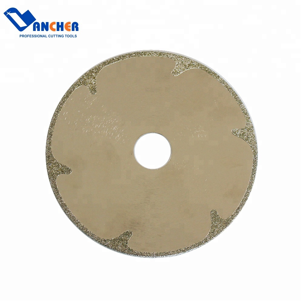 """4/"""" inch Electroplated Diamond Saw Blades Cutting Disc for PVC FRP Pipe Fittings"""