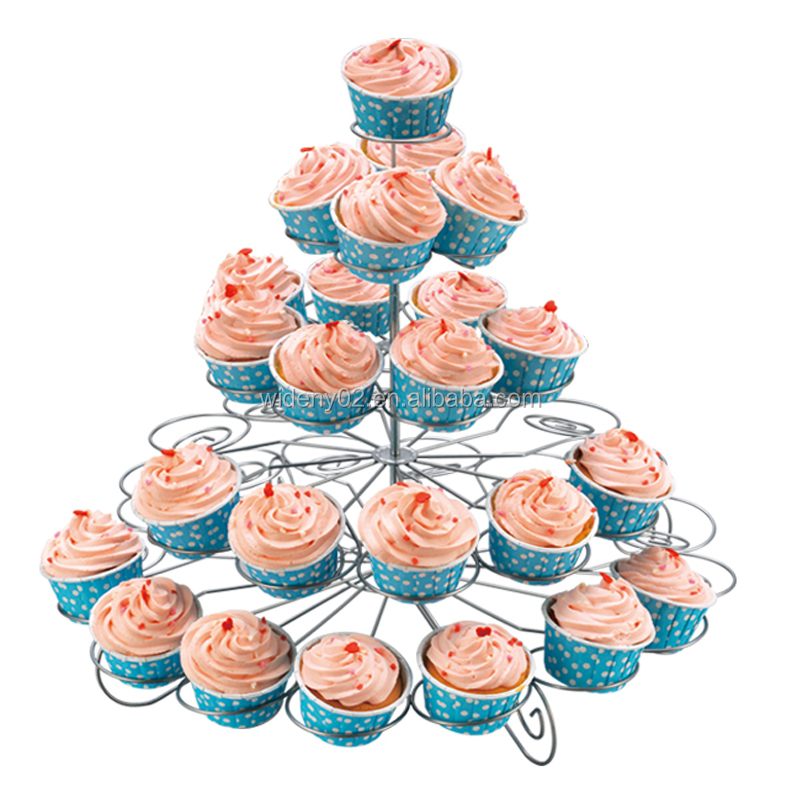 5 Tier Birthday Party Rotating Turntable Wedding Cake Stand