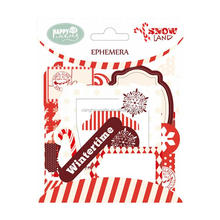 XSC1713X <span class=keywords><strong>all</strong></span>'ingrosso ephemera carta die cut per il natale scrapbooking