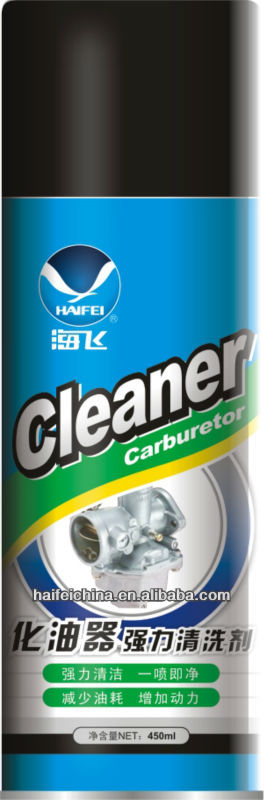 Carburetor cleaner for car care products