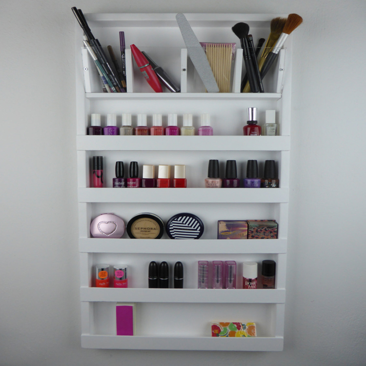 Makeup Nail Polish Floor Standing Rack Display, Makeup Nail Polish ...