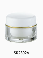 5g 15g 30g 50g 80g 100g PETG material cosmetic packing empty cream jar