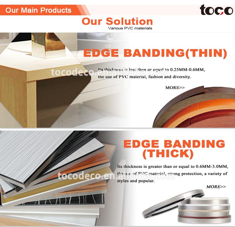 ... Pvc Extrusion Profile,Countertop Edge Profile,Pvc Countertop Edging