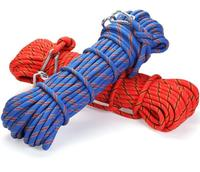 Rock climbing mountaineering Polyester/Nylon Braided Ropes