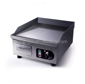 Lovely Stainless Steel Flat Plate Portable Electric Griddle For Sale