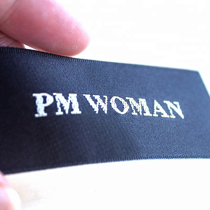 Clothing Woven Label,Garment Woven Label Neck Tag