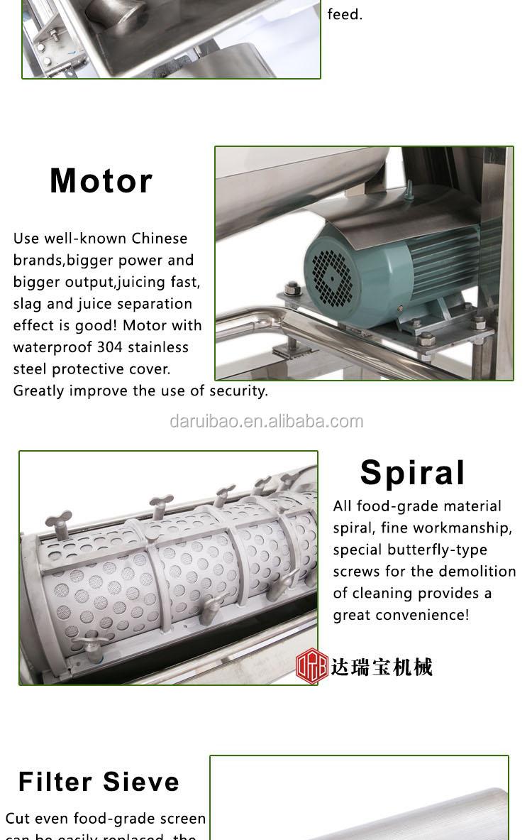 Commercial Fruit Juicer Machine Industrial Coconut Juice Processing Machine Onion Juice Extractor Machine