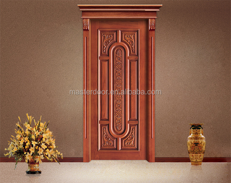 Latest Design 48 Inches Carved Wooden Exterior Doors For Sale In Moroccan