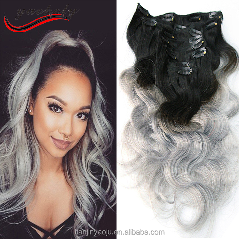 Grey hair clip in extensions grey hair clip in extensions grey hair clip in extensions grey hair clip in extensions suppliers and manufacturers at alibaba pmusecretfo Image collections